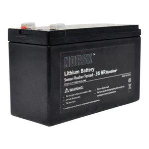 NORSK 7.5AH Lithium Ion flasher battery - NORSK FISHING