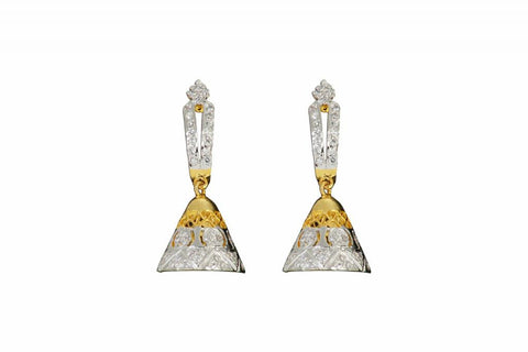 Earring   Fine CZ (Cubic Zerconia) Jewellery   : Ethnic Fashion Collection -  YF-9317