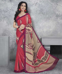 Gajjaria Color Georgette Office Wear Sarees : Dipshir Collection  YF-51787