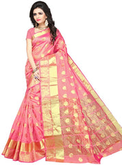 Pink Color Art Silk Festive Wear Sarees : Advisha Collection  YF-50791
