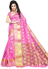 Pink Color Art Silk Festive Wear Sarees : Advisha Collection  YF-50794
