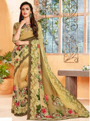 Multi Color Georgette Party Wear Sarees : Prashvita Collection  YF-57576