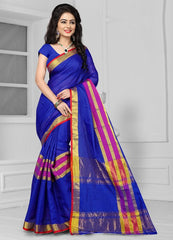 Blue Color Art Silk Casual Wear Sarees : Antra Collection  YF-50786