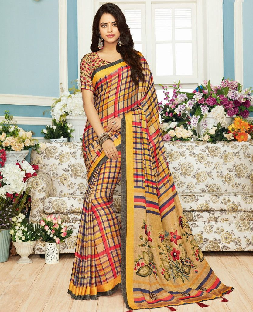 Multi Color Pashmina Silk Designer Festive Sarees : Preshan Collection  NYF-2093 - YellowFashion.in