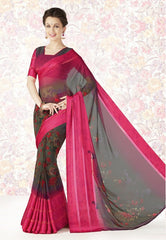 Pink Color Georgette Casual Party Sarees : Mishrani Collection  YF-45997