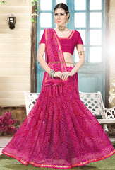 Pink Color Glamour Silk Designer Party Wear Sarees : Prinisha Collection  YF-58537