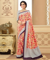 Yellow & Orange Color Bhagalpuri Casual Wear Sarees : Neva Collection  YF-47000