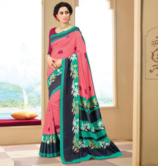 Gajjaria Color Bhagalpuri Casual Wear Sarees : Neva Collection  YF-47003