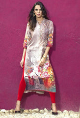 Burgandy Color Rayon Readymade Party Wear Kurtis ( Sizes - 38, 40, 42, 44 ): Kriyansh Collection  YF-51731