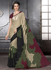 Multi Color Crepe Casual Party Sarees : Anudita Collection  YF-47976