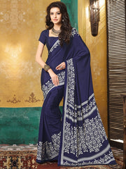 Blue Color Crepe Casual Wear Sarees : Avrani Collection  YF-47011