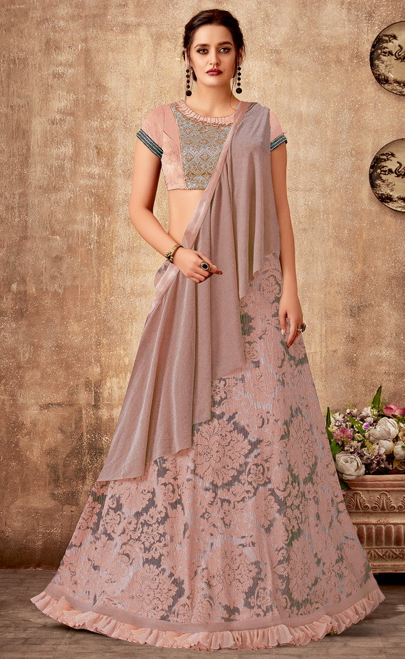 Pink Color Fancy Designer Lehenga -Khwaish Collection YF#11853