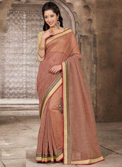 Red and Cream Color Lilon Checks Special Occasion Sarees : Samyukta Collection  YF-23703