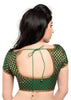 green Color Brocade Readymade Function Wear Blouses ( Sizes - 32, 34, 36, 38, 40, 42 ): Samita Collection  YF-38550