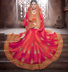 Pink Color Crepe Silk Designer Festive Sarees : Niyara Collection  YF-51802