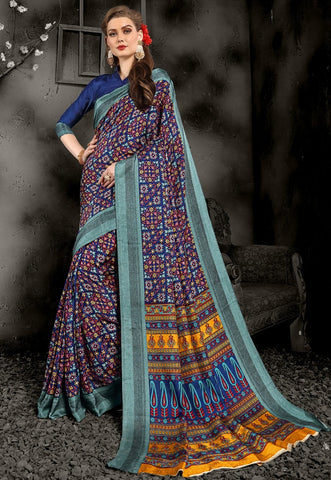 Multi Color Pashmina Casual Wear Sarees : Swarit Collection YF-67553