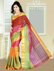 Multi Color Cotton Casual Party Wear Sarees : Bhavina Collection  YF-29900