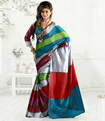 Multi Color Cotton Casual Party Wear Sarees : Bhavina Collection  YF-29906