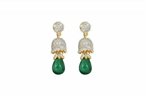 CZ Fine Quality Earring : Alisah Collection  YF-54325