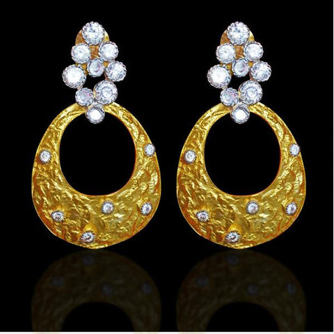 CZ Fine Quality Earring : Alisah Collection  YF-54306