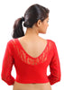 Red Color Strech Lycra Stretchable Daily Wear Blouses (Fits From 30 To 36 ): Samita Collection  YF-40048