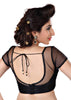black Color Net Readymade Function Wear Blouses ( Sizes - 32, 34, 36, 38, 40, 42 ): Samita Collection  YF-38898
