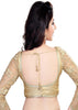 gold Color Fancy Readymade Function Wear Blouses ( Sizes - 32, 34, 36, 38, 40, 42 ): Samita Collection  YF-38928