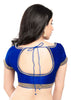 royal-blue Color Dupion Silk Readymade Function Wear Blouses ( Sizes - 32, 34, 36, 38, 40, 42 ): Samita Collection  YF-39012