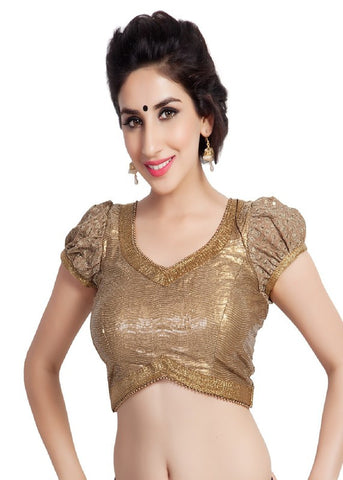 copper Color Sequence Readymade Function Wear Blouses ( Sizes - 32, 34, 36, 38, 40, 42 ): Samita Collection  YF-39018