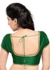 green Color Brocade Readymade Function Wear Blouses ( Sizes - 32, 34, 36, 38, 40, 42 ): Samita Collection  YF-39054