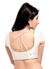 off-white Color Brocade Readymade Function Wear Blouses ( Sizes - 32, 34, 36, 38, 40, 42 ): Samita Collection  YF-39072