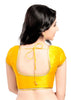 yellow Color Brocade Readymade Function Wear Blouses ( Sizes - 32, 34, 36, 38, 40, 42 ): Samita Collection  YF-39126