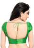 parrot-green Color Dupion Silk Readymade Function Wear Blouses ( Sizes - 32, 34, 36, 38, 40, 42 ): Samita Collection  YF-39168