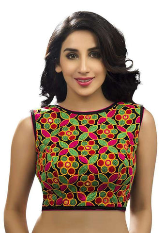 multi Color Georgette Readymade Function Wear Blouses ( Sizes - 32, 34, 36, 38, 40, 42 ): Samita Collection  YF-39744
