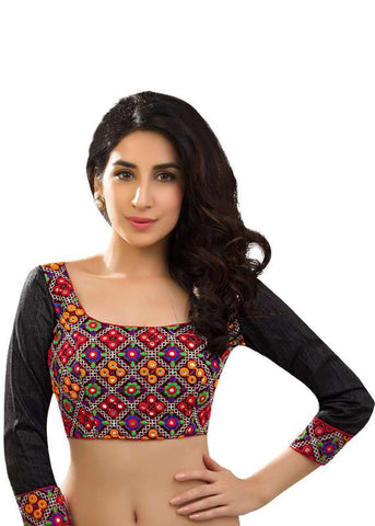 multi Color Dupion Silk Readymade Function Wear Blouses ( Sizes - 32, 34, 36, 38, 40, 42 ): Samita Collection  YF-39750