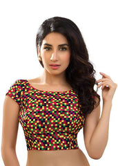 multi Color Brocade Readymade Function Wear Blouses ( Sizes - 32, 34, 36, 38, 40, 42 ): Samita Collection  YF-39768