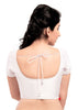 off-white Color Dupion Silk Readymade Function Wear Blouses ( Sizes - 32, 34, 36, 38, 40, 42 ): Samita Collection  YF-39876