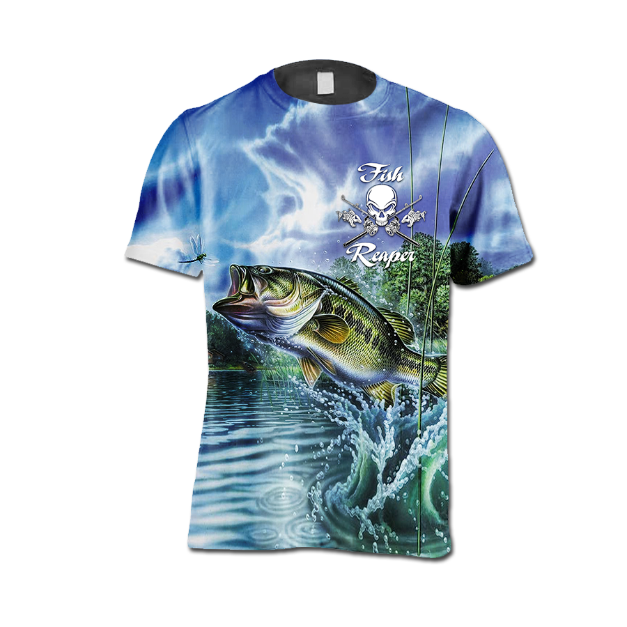 3D All Over Printed Fishing Shirts