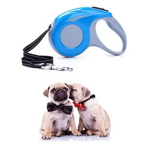 Adjust Retractable Dog Leash with Locking System and ABS Plastic