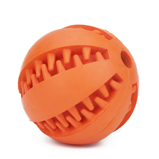 Tooth Clean Ball Of Food Extra-tough Rubber Ball
