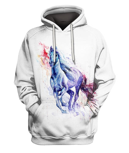 3D All Over Printed Horse Pattern Shirts