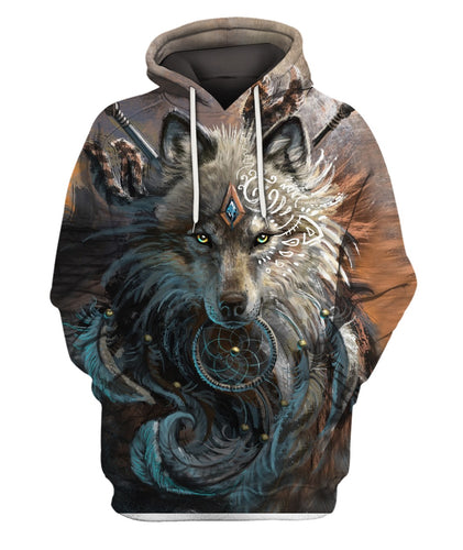 3D Printed Wolf Dreamcatcher Clothes