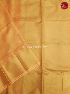 Golden Orange(Single Tone) - Linen Cotton