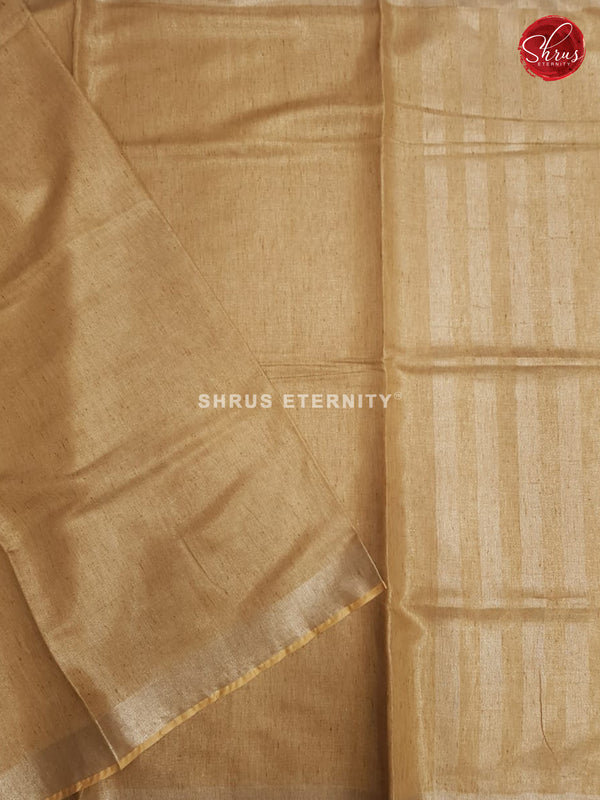 Light Brown(Single Tone)  - Linen Cotton