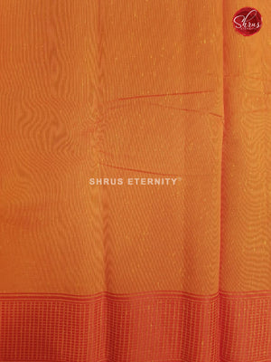 Yellow & Orange - Cotton Silk