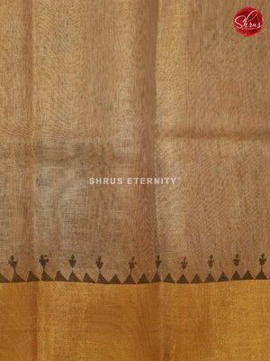 Light Brown(Single Tone) - Linen Tissue Cotton