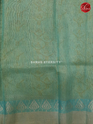 Sky Blue (Single Tone) - Linen Tissue Cotton