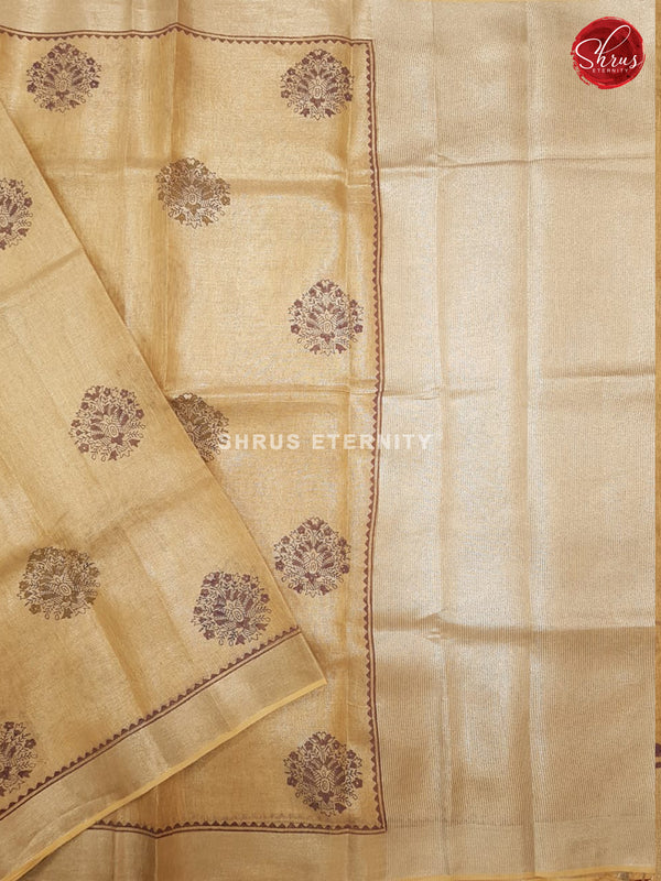 Pale Yellow (Single Tone) - Linen Tissue Cotton