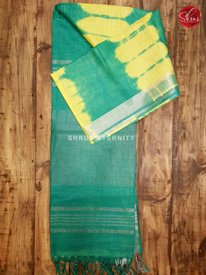 Yellow & Green - Shibori - Shop on ShrusEternity.com