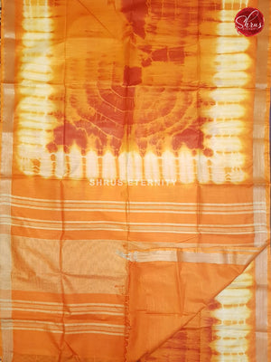 Orange & White - Shibori - Shop on ShrusEternity.com